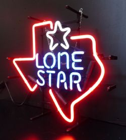 Lone Star Neon Sign